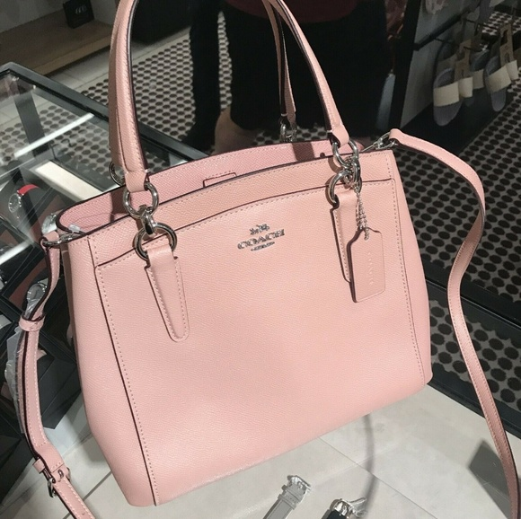 Coach Handbags - Coach Minetta Crossbody  Leather F67091 Petal Pink